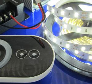 Как подключить светодиодную ленту к диммеру ?